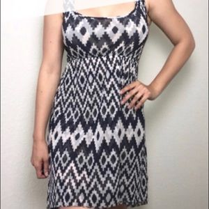 Anthropologie Lilka Ikat High-low Dress